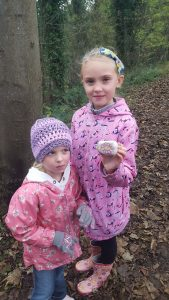 Our first treasure - a Notts Rock!
