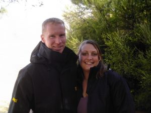 Photo of Mummy and Daddy Bee in New Zealand in 2007