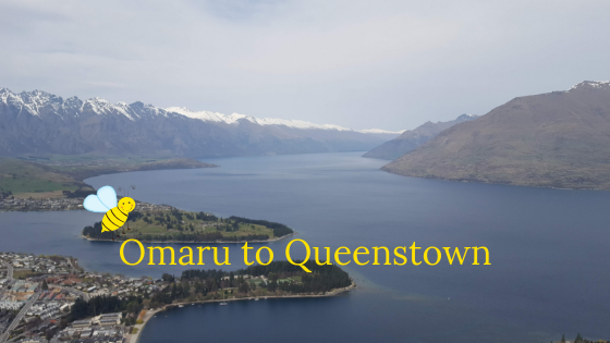 Omaru to Queenstown (and back to Cromwell)