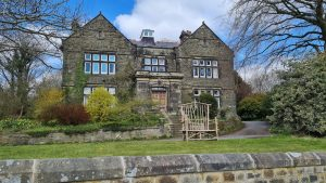 The house that was the Derwent Valley Water Board Headquarters
